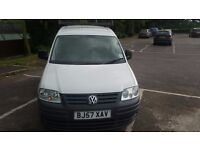 57 Reg VW CADDY LOW MILAGE NEW MOT EXCELLENT CONDITION ONE OWNER