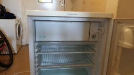 Used electralux fridge with freezer box good working order