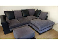 Corner Sofa and foot stall for Sale
