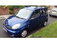 TOYOTA YARIS VERSO 1.3 VVT-I DRIVES GREAT 1 YEAR MOT