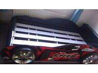*BETTER THAN HALF PRICE* Red Car Single Bed (practically new)