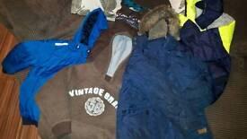 Boys 9-10 years bundle of coats