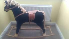 Children's rocky horse