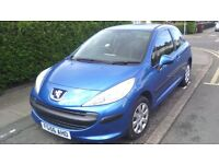 PEUGEOT 207 2006 1.4 ONLY 61,000 MILES, VGC.