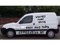 CASH 4 YOUR UNWANTED CARS & VANS