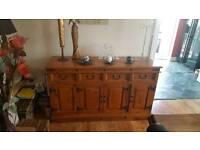 Beautiful old wood cabinet