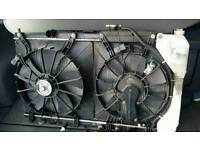Honda CRV complete radiator pack
