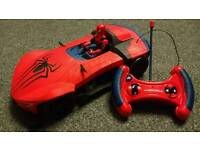 Spider man large remote control car