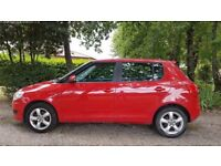 SKODA FABIA 1.4 manual, 5dr hatchback, low mileage, new MOT till 01/19, new tyres