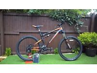 Brand New-Boardman Team FS 2017 Full suspension Mountain Bike