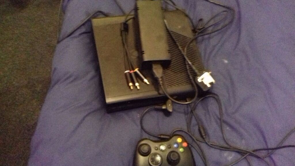 Xbox 360 E 500GB Console10 gamesin Paisley, RenfrewshireGumtree - Hi i have an used in good working order Xbox 360 E 500GB Console with all leads 1 Xbox 360 Wireless Controller with charger 10 games click image to see the games