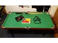 Snooker table