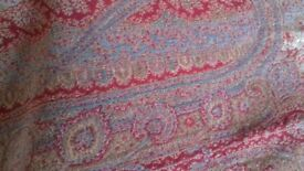 Beautiful Victorian Paisley Shawl / Wall Hanging