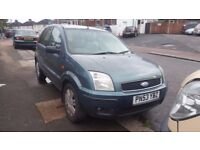 2004 FORD FUSION 3 1.4 TDCI DIESEL 5 SPEEDS **** GEARBOX **** GOOD CONDITION
