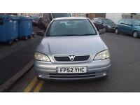 Vauxhall ASTRA 1.4 petrol 2002