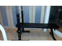 ADJUSTABLE WIEIGHTS LIFTING BENCH