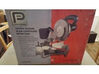 circular Saw - Slide compound mitre saw 230V 1800W 255mm up to 295mm cut