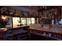 Experienced Cocktail Bartender wanted for Busy Riverside Restaurant/Bar in the Docklands