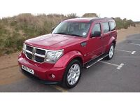 Dodge Nitro 3.7 V6 SXT 5dr, Full Service History, Nearly new Tyres