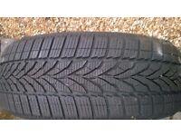 3 Winter Tyres used half season. 'Star Performer' 185/55 R15 86H XL