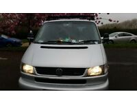 VW Caravelle 2002 T4 - Twin slider, 2.5TDi, tailgate - (not a T5, a T3 or a T25. Not a Mazda Bongo)