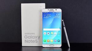SAMSUNG GALAXY NOTE 5 UNLOCKED 32GB SMARTPHONE