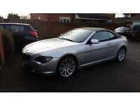 bmw 630i convertible! fully loaded!
