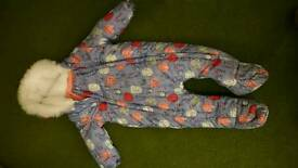 Snowsuit 6 to 9 months new