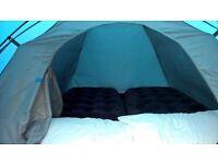 3 man tent plus 2 inflatable mattresses Vango Alpha 300