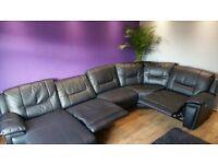 Manual Recliner Corner Sofa