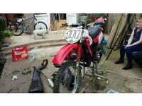 Honda mtx 125 road legal