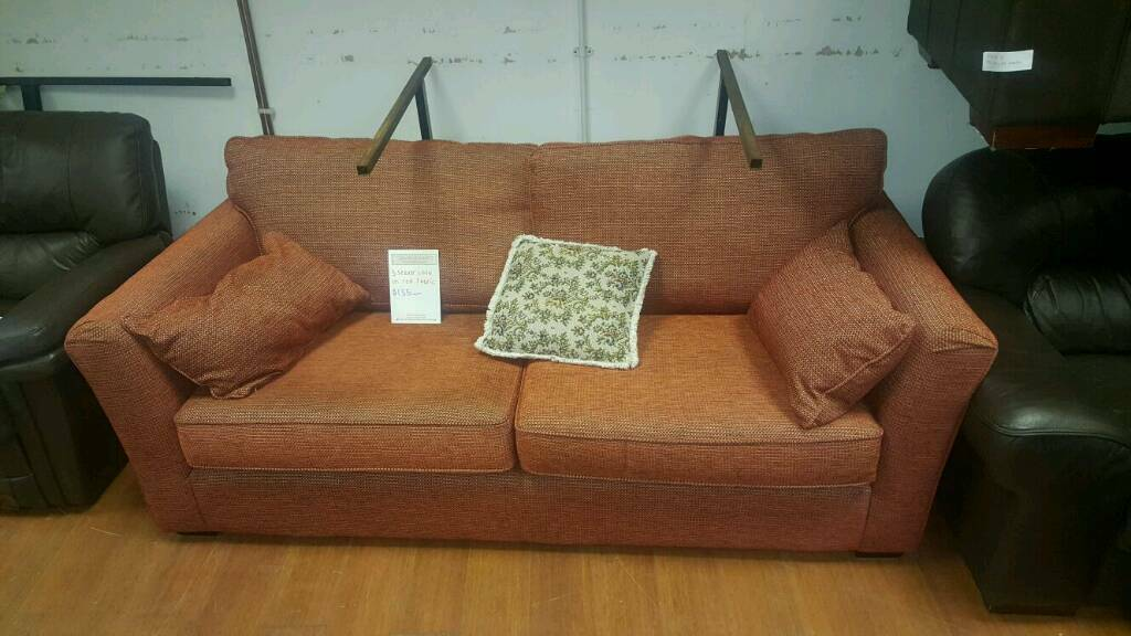 Fabric 3 Seater Sofa 135 Delivered In Belfast City