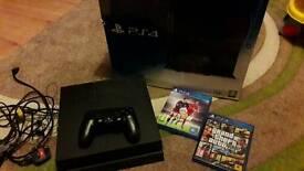 PS4 500gb CONSOLE PLUS 3 GAMES INC. GTA V