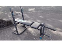 CHEAP YORK WEIGHTS BENCH WITH LEG CURL