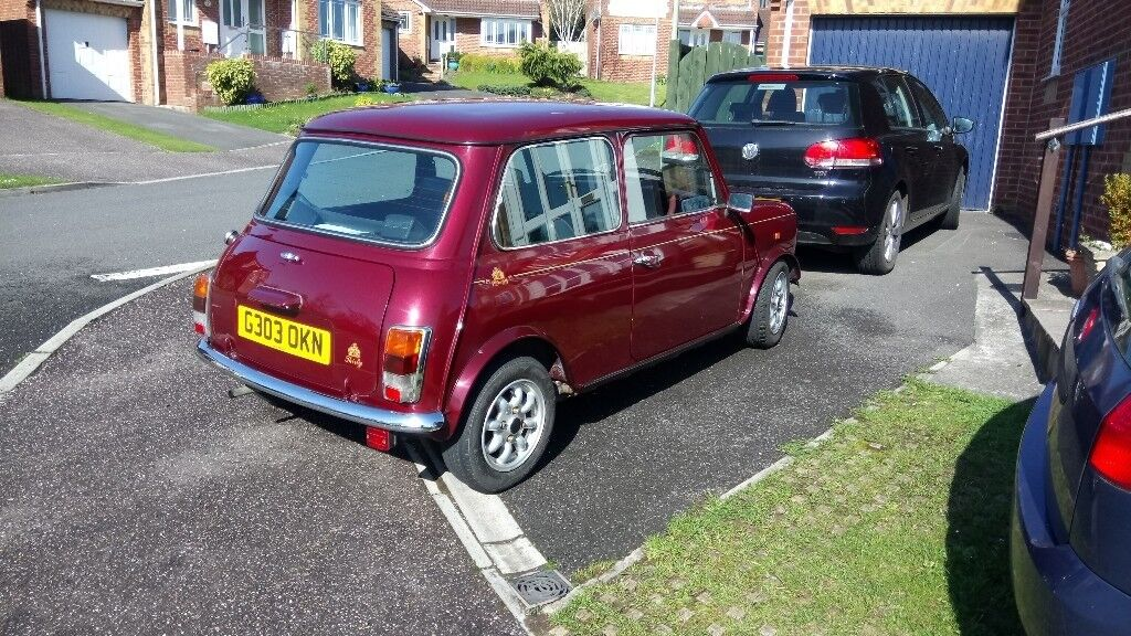 Classic Mini Thirty Anniversary 1989 Been Restored Lovely Car In
