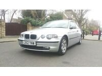 bmw automatic 3 series,3 door with full mot and good engine