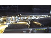 TENOR SAXOPHONE , AMERICAN made In ELKHART U.S.A. by SELMER / BEUSCHER COMPANY As NEW+