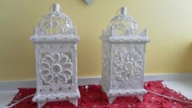 2 as new bedside lamps