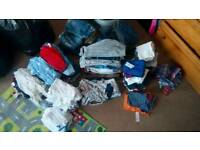 Huge Bundle of 9.12 boys clothes