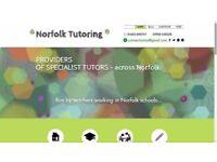 'Norfolk Tutoring' (providing specialist tutors across Norfolk)