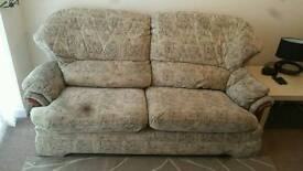 Sofa and 2 arm chairs suite