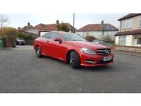 Mercedes C250 CDI AMG SPORT COUPE