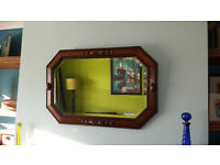 Free wall mirror - see picture