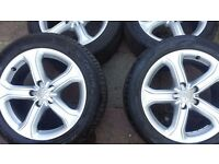 Audi A5,A7 X4 Genuine Skope Alloy Wheel with Tyre