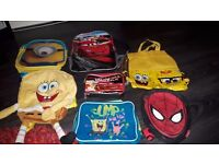Childrens character bags bundle