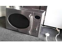 Chrome Breville Microwave