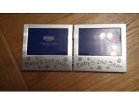 Baby scans photo frame