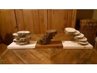 handmade rustic log slice gifts
