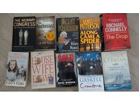 Job lot 10 paperback books - pre-read - all good condition - no missing pages