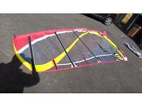 Windsurfing Sail Arrows Trix 7.2m